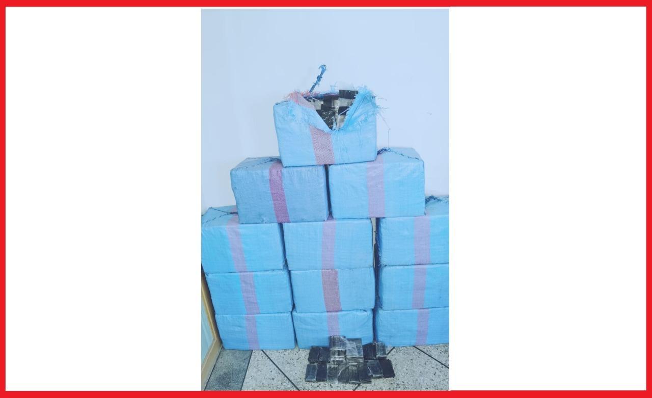 يقظة مصالح الأمن بتطوان تسقط مروج مخدرات بحوزته350 كيلوغراما من مخدر الشيرا